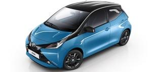 El nuevo color del Toyota Aygo