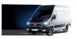 Hyundai H350, la surcoreana desvela su nuevo vehículo comercial