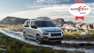 Los nuevos Citroën Berlingo, Opel Combo y Peugeot Rifter se hacen con el premio Autobest 2019