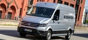 Volkswagen e-Crafter, ya a la venta con hasta 170 km de repartos cero emisiones