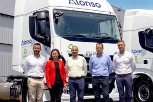 El Grupo Alonso refuerza su componente más ECO sumando a sus filas undiades del IVECO Stralis NP 460 a gas