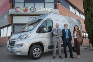 Fiat Professional y GLS impulsan el uso del GNC en la paqueteria