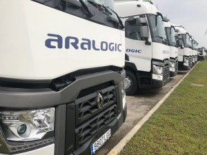 Renault Trucks T 520 Sleeper Cab: Aralogic suma 10 unidades a su flota