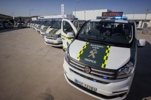 Fiat Talento, nueva herramienta de la Guardia Civil de Tráfico para luchar contra el alcohol y las drogas