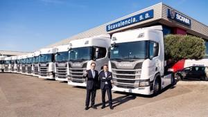 Grupo Llácer y Navarro suma a sus filas 39 unidades del nuevo Scania R450