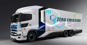 ¿Un camión de gran tonelaje y 0 emisiones? Así es el proyecto de Toyota e Hino: 600 km de autonomía 0 emisiones