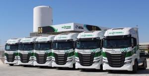 IVECO S-WAY NP: Global Feed Ecotrans refuerza su apuesta por el gas sumando 12 unidades