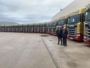 Scania S500: Transportes Prada suma a sus filas 19 unidades del modelo