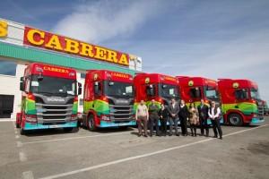 Scania R410 GNL: Transportes Cabrera apuesta por el gas para sus rutas a países nórdicos