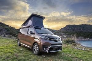 Toyota Proace Verso Camper Nomad Plus Home, la versión tope de gama de la camper de Toyota llega a España