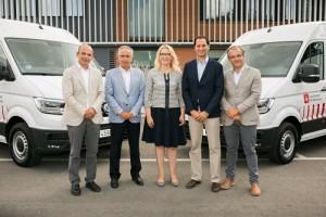 Sorigué remarca su apuesta por la sostenibilidad sumando a sus filas 6 unidades del nuevo Volkswagen e-Crafter 100% eléctrico