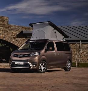 Toyota Proace Verso Camper; la firma nipona se al�a con el especilista Tinkervan para entrar de lleno en el mundo camper