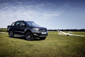 Ford Ranger Black Edition, exclusividad pick up para Frankfurt