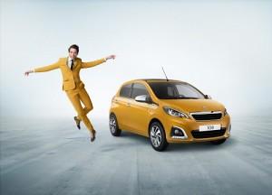 Peugeot 108 Collection, una colorida serie especial de cara al verano
