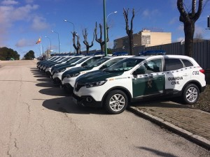 Renault Kadjar: 180 unidades del SUV hecho en Palencia ayudarán a la Guardia Civil a velar por nuestra seguridad