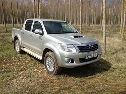 Prueba Toyota Hilux 2.5 D4D VX: introducci�n, dise�o, y habitabilidad