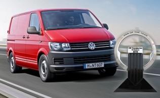 Volkswagen Transporter T6, Van Of The Year 2016