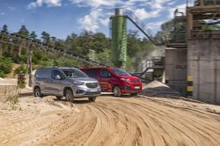 Opel Combo Cargo 4x4 y Opel Vivaro 4x4: tracción total para los usos más exigentes