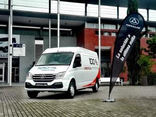 Maxus inicia su andadura en España especializándose en furgonetas eléctricas