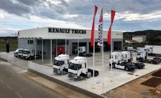 Renault Trucks estrena instalaciones en Girona