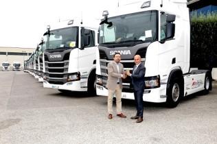 Kortimed refuerza su flota con 40 unidades del Scania R450