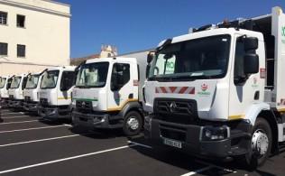 La Diputación de Badajoz suma a sus filas 15 unidades de la gama D de Renault Trucks