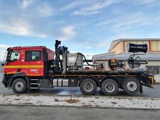 Renault Trucks C520 8x4 multi-propósito: luchando también contra el coronavirus gracias a su marcada capacidad de adaptación