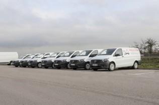 Miguelón Express suma a su flota 10 Mercedes-Benz Vito y 2 Sprinter