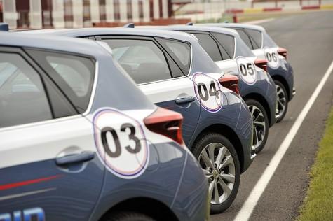 24 horas h�bridas Toyota de pura adrenalina