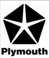 Plymouth car brand logo