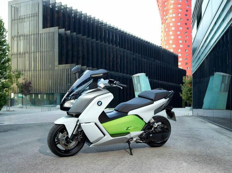 Foto BMW C Evolution 2014 10