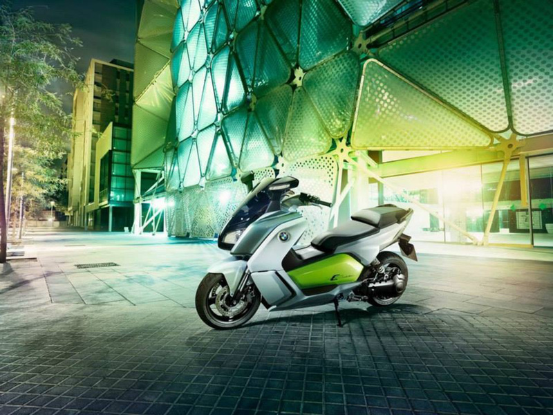Foto BMW C Evolution 2014 5