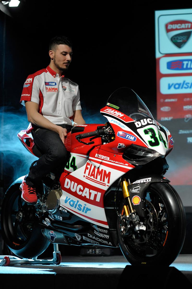 Foto Ducati Superbike Team Presentation 2014 3