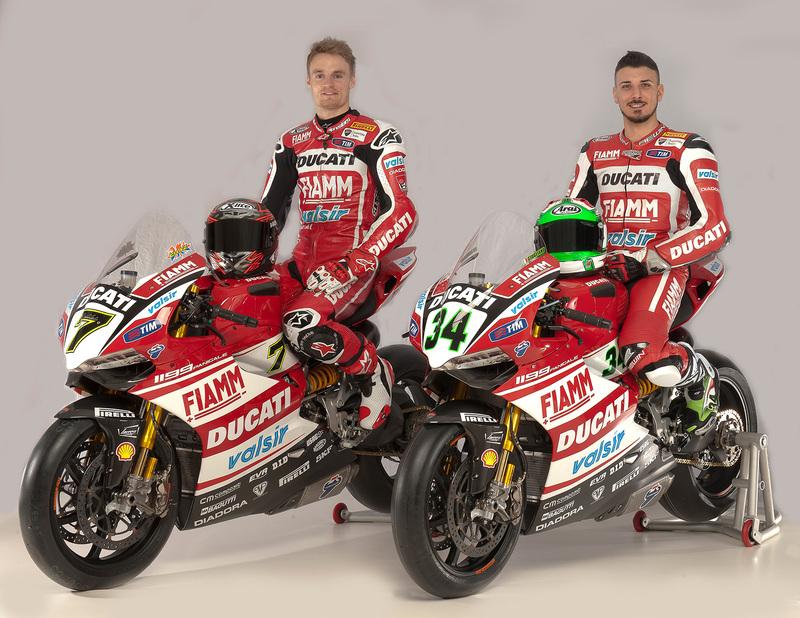Foto Ducati Superbikes Chaz Davies & Davide Giugliano 2014
