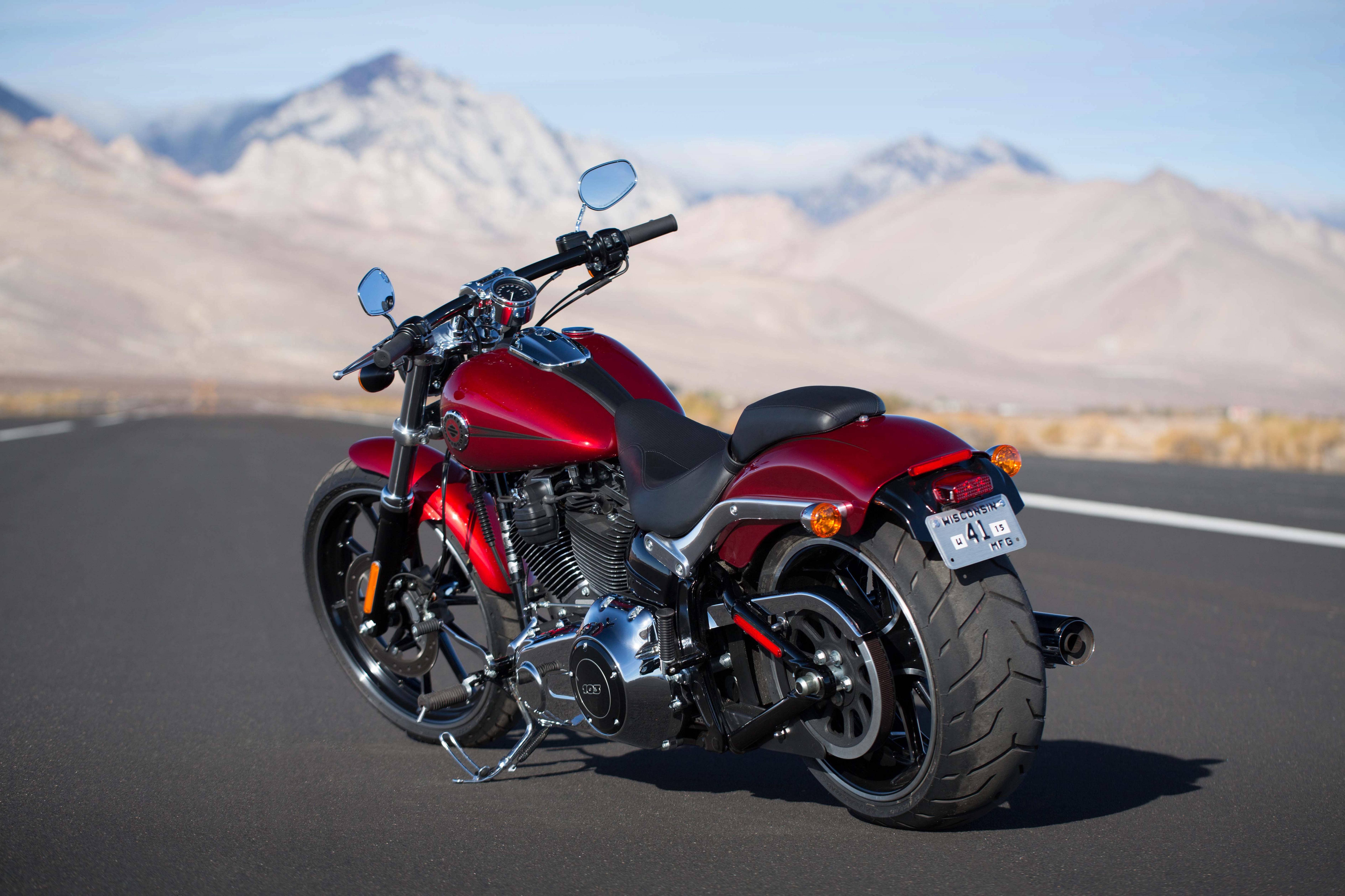 Harley Breakout Cvo >> FOTO HD SOFTAIL BREAKOUT 2013 EXTERIOR 8