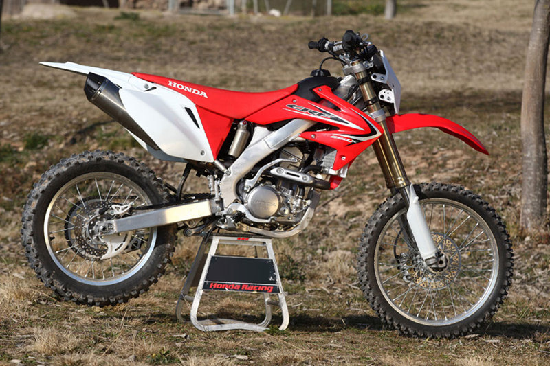 foto honda crf 250 x 2013 lateral derecho. Black Bedroom Furniture Sets. Home Design Ideas