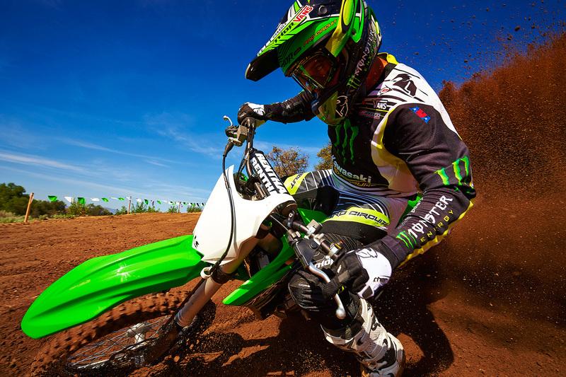 Foto Kawasaki KX250F 2015 Dinamica 40