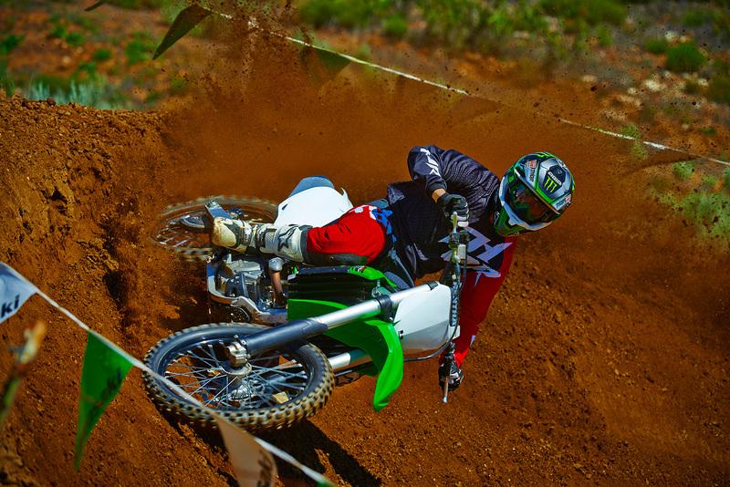 Foto Kawasaki KX250F 2015 Dinamica 44