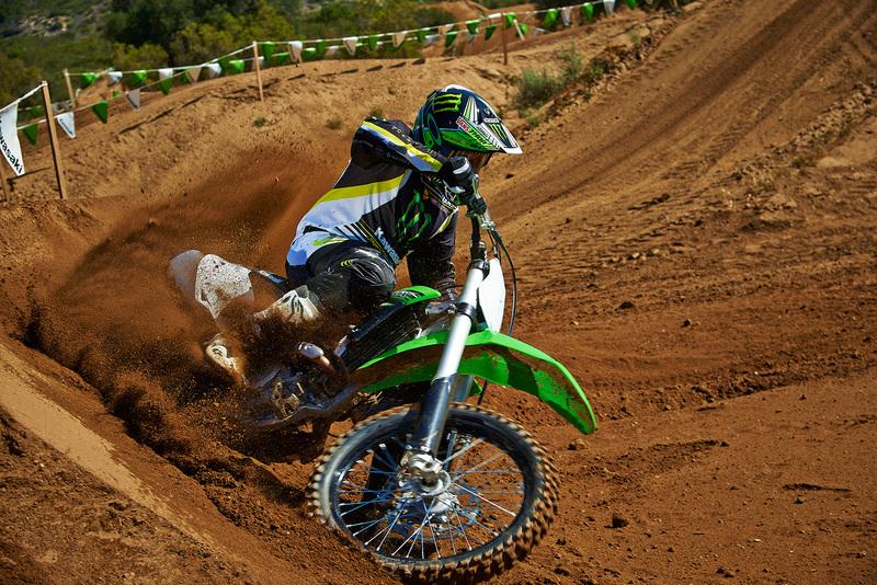 Foto Kawasaki KX250F 2015 Dinamica 45