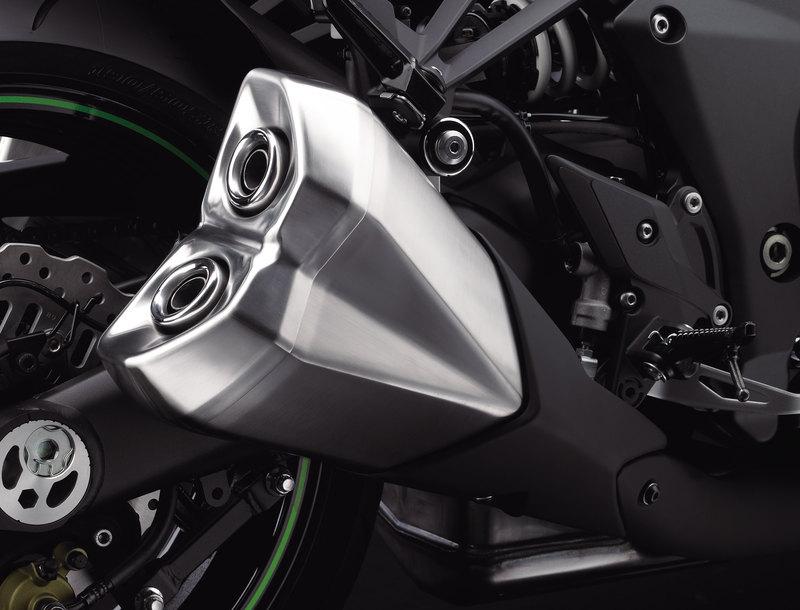 Foto Kawasaki Z 1000 2014 Detalles 4