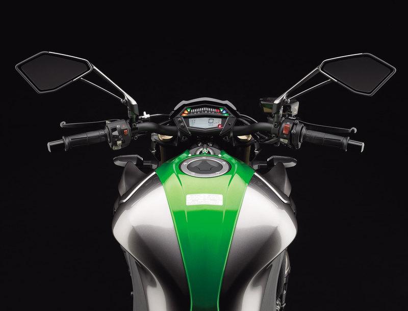 Foto Kawasaki Z 1000 2014 Detalles 7