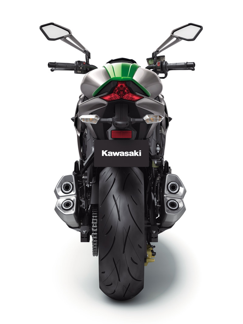 Foto Kawasaki Z 1000 2014 Trasera 25