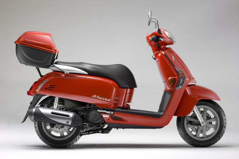 Foto Kymco Like 50 125 2013 Lateral Derecho 30