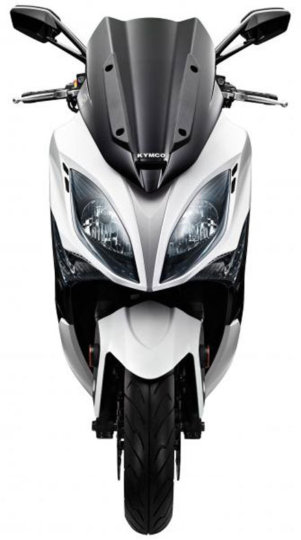 Foto Kymco Xciting 400i 2013 Frontal 8