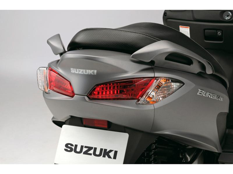 Foto Suzuki Burgman 125 ABS 2014 Detalles 4