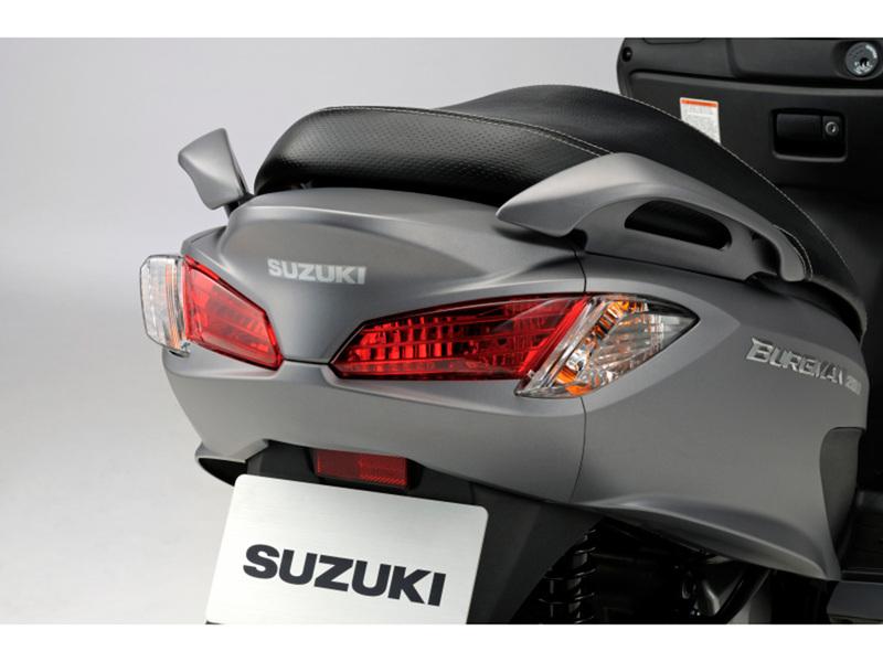 Foto Suzuki Burgman 200 ABS 2014 Detalles 17