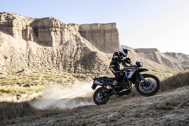 Foto Triumph Tiger XC 2015 Dinamica 2
