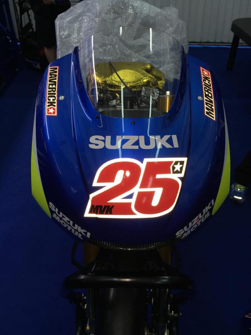 Foto Suzuki Vinales 2015