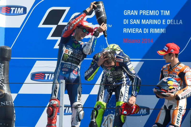 Foto Podio MotoGP GPSMarino 2014