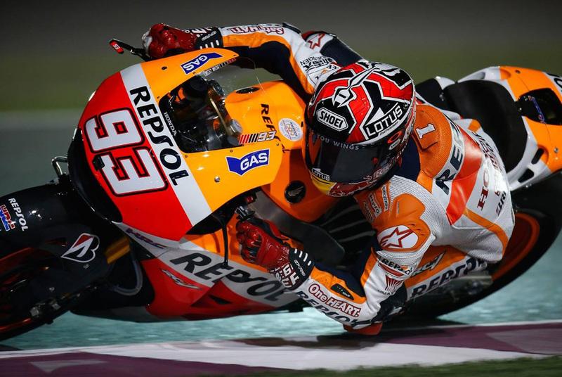 Foto Marquez MotoGP Qatar 2014 1